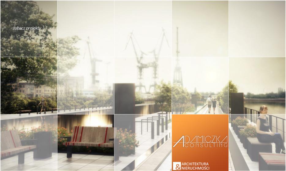 projekt mebli miejskich Gdańsk