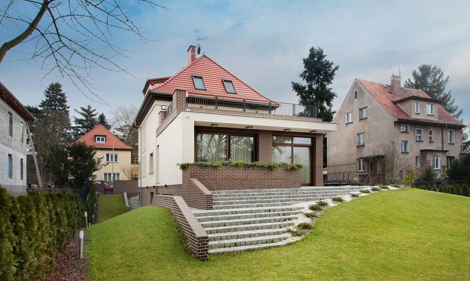 Rozbudowa domu jednorodzinnego - Willa na Biskupinie Wrocław projekt / realizacja 2014 Adamiczka Consulting (11)