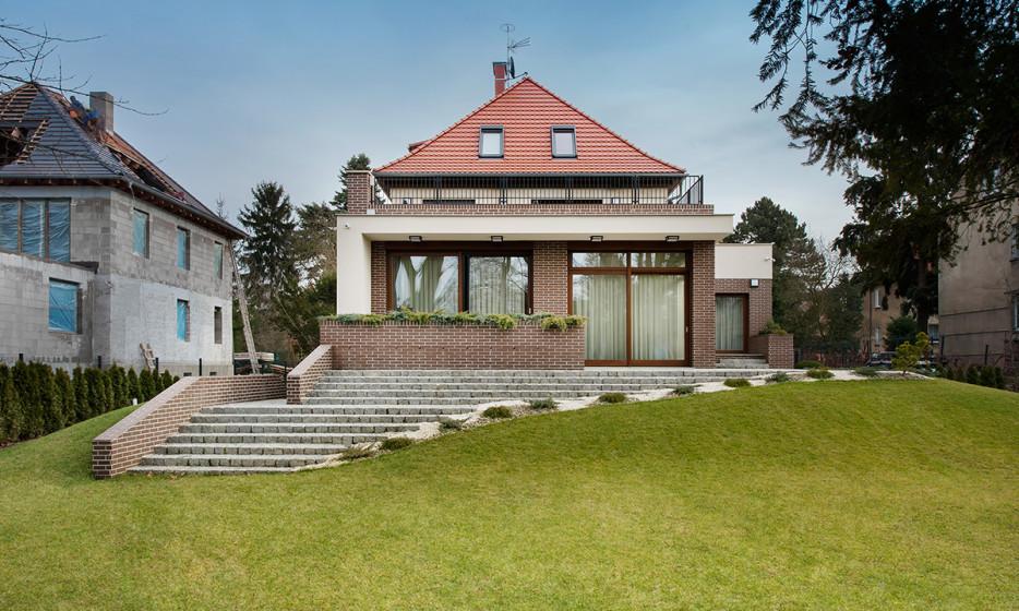 Rozbudowa domu jednorodzinnego - Willa na Biskupinie Wrocław projekt / realizacja 2014 Adamiczka Consulting (12)
