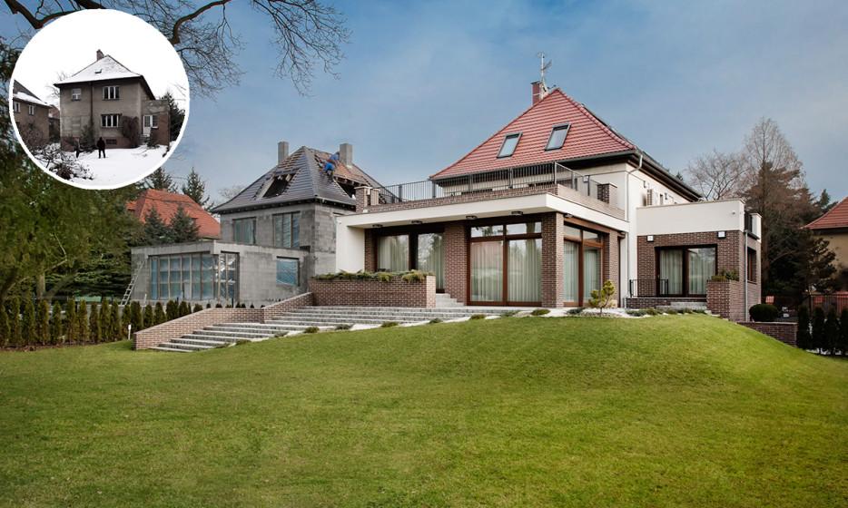 Rozbudowa domu jednorodzinnego - Willa na Biskupinie Wrocław projekt / realizacja 2014 Adamiczka Consulting (13)