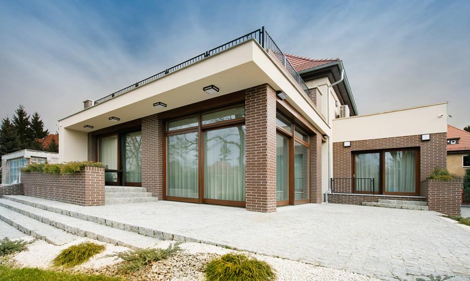 Rozbudowa domu jednorodzinnego - Willa na Biskupinie Wrocław projekt / realizacja 2014 Adamiczka Consulting (2)