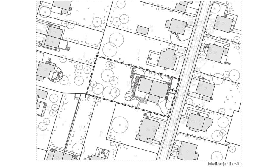 Rozbudowa domu jednorodzinnego - Willa na Biskupinie Wrocław projekt / realizacja 2014 Adamiczka Consulting (5) lokalizacja