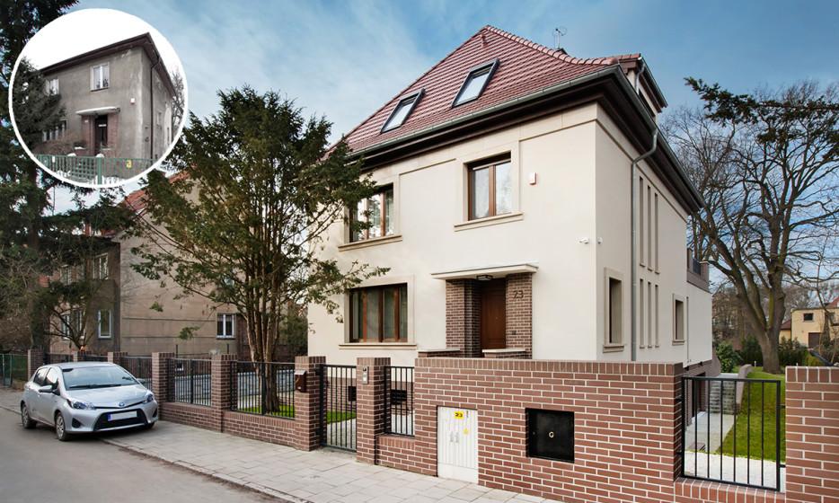 Rozbudowa domu jednorodzinnego - Willa na Biskupinie Wrocław projekt / realizacja 2014 Adamiczka Consulting (8)