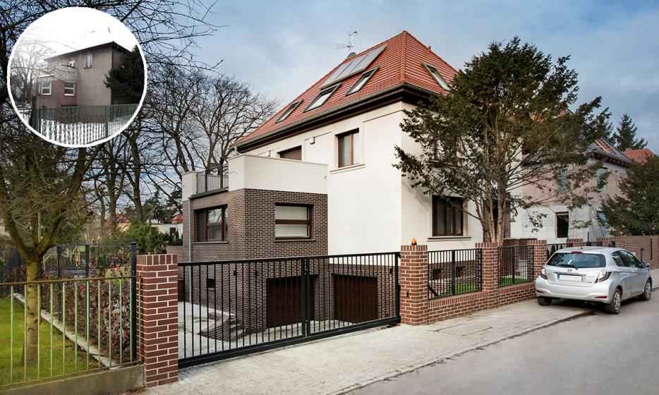 Rozbudowa domu jednorodzinnego - Willa na Biskupinie Wrocław projekt / realizacja 2014 Adamiczka Consulting (9)