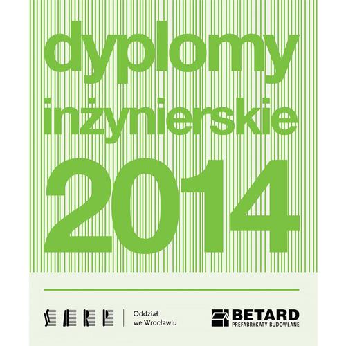 2014-05 - Adamiczka uhonorowany nominacją do najlepszego inżynierskiego Dyplomu Roku 2013-2014 (ikona)