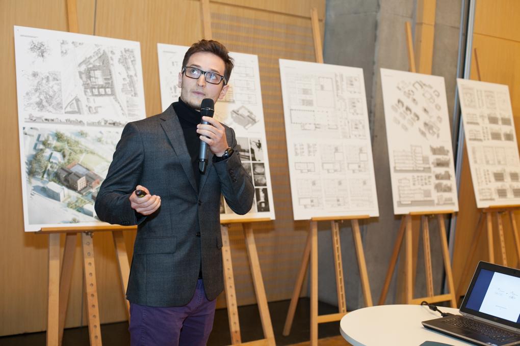 2015-05 - Projekt Adamiczki na wystawie w budynku Agory w Warszawie (2)