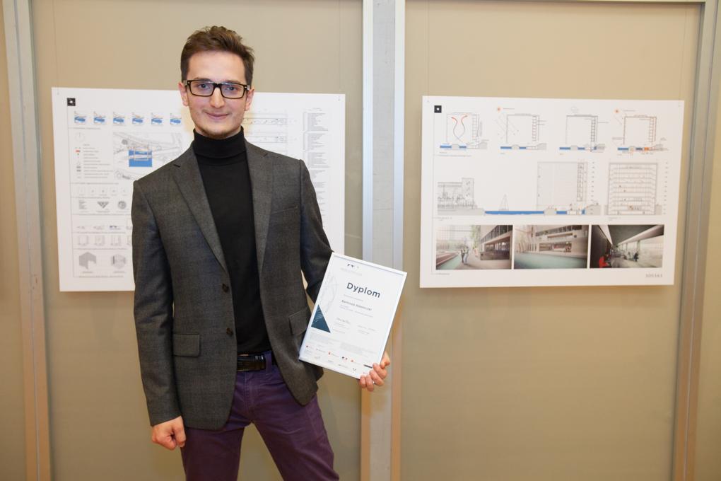 2015-05 - Projekt Adamiczki na wystawie w budynku Agory w Warszawie (3)