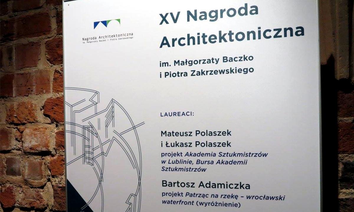 2015-11 - Projekt Adamiczki na wystawie w Muzeum Architektury we Wrocławiu (1)