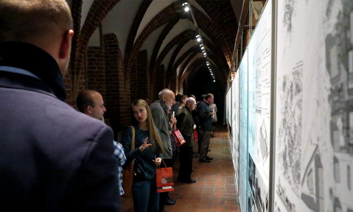 2015-11 - Projekt Adamiczki na wystawie w Muzeum Architektury we Wrocławiu (3)
